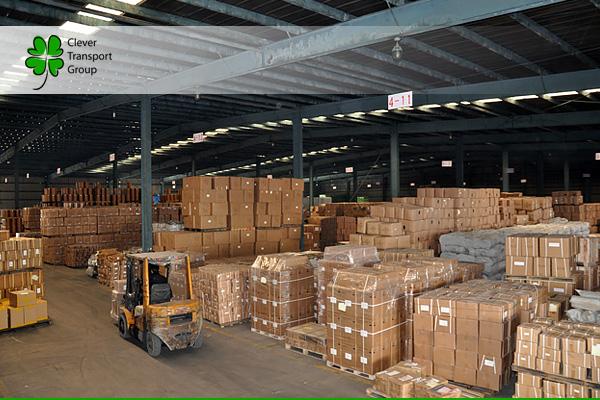 Работа консолидационного склада в Китае