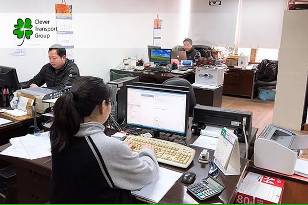 Работа консолидационного склада в Китае -