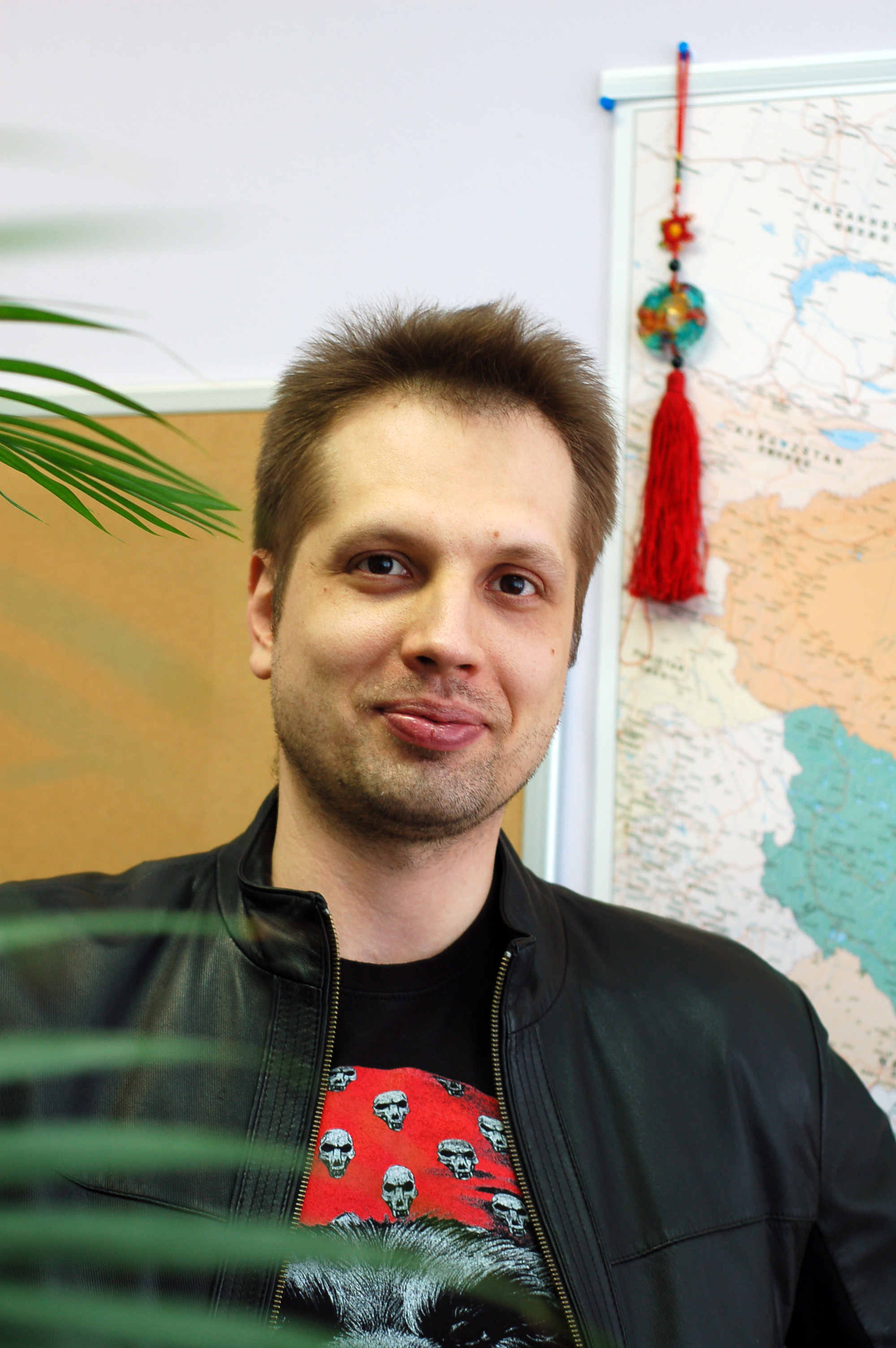 logist Vitaly Belogorodsev